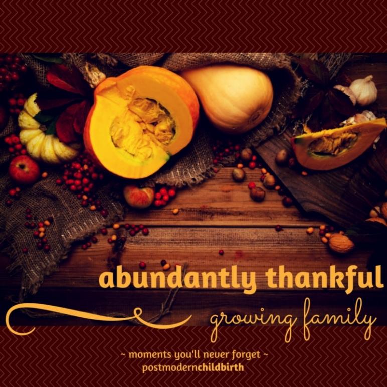 abundantly grateful